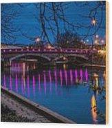 Maidstone Bridge Wood Print