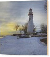 Marblehead Lighthouse Lake Erie Wood Print