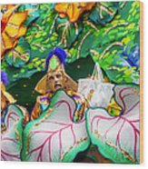 Mardi Gras Float Wood Print
