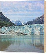 Margerie Glacier Wood Print