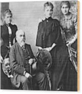 Marie Curie (1867-1934) Wood Print
