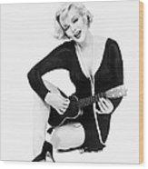 Marilyn Monroe (1926-1962) Wood Print by Granger