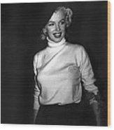 Marilyn Monroe In Korea Wood Print