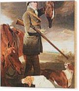 Marshall's J G Shaddick -- The Celebrated Sportsman Wood Print