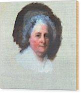 Martha Washington (1731-1802) Wood Print