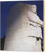 Martin Luther King Memorial Wood Print