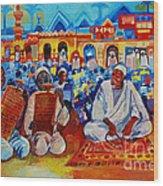 Maseed Maseed 9 Wood Print