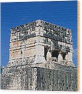 Mayan Ruins Wood Print