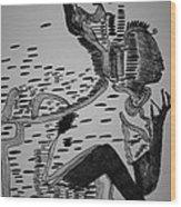 Mbakumba Dance - Zimbabwe Wood Print