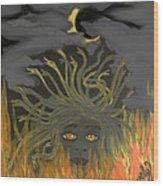 Medusa Wood Print