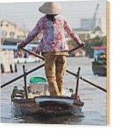 Mekong Delta - Vietnam Wood Print