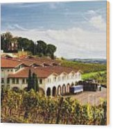 Melini Winery Wood Print