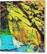 Mellow Yellow 69 Wood Print