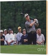 12w334 Jack Nicklaus At The Memorial Tournament Photo Wood Print