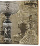 Memories Of Paris Wood Print