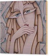 Memory Wood Print by Simona  Mereu