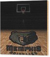 Memphis Grizzlies Wood Print