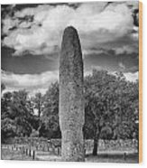 Menhir Wood Print