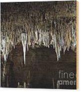 Meramec Caverns Wood Print