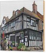 Mermaid Inn Rye Wood Print