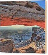 Mesa Arch Frame Wood Print