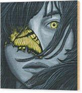 Metamorphia Wood Print