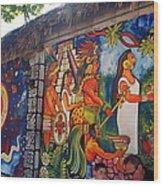 Mexican Wall Art Wood Print