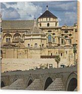 Mezquita Cathedral In Cordoba Wood Print by Artur Bogacki