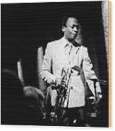 Miles Davis At The Penthouse Wood Print