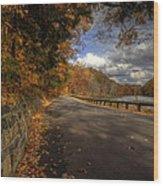 Mill Creek Park In Autumn Wood Print