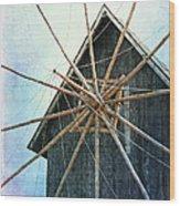 Mill Wood Print by Lali Kacharava