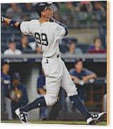 Milwaukee Brewers v New York Yankees Wood Print