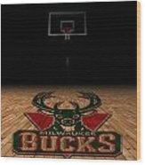 Milwaukee Bucks Wood Print