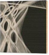 Mind Flashes 1 Wood Print by Khaya Bukula