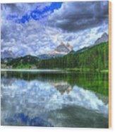 Mirror In The Sky Wood Print