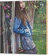 Missing You Wood Print by Andrei Attila Mezei