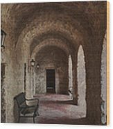 Missions Of  San Antonio Wood Print by Cindy Rubin