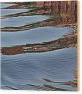 Mississippi Reflections Wood Print