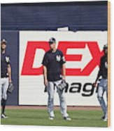 MLB: FEB 20 Spring Training - Yankees Workout Wood Print