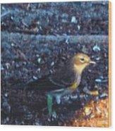 Mockingbird Wood Print