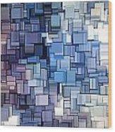 Modern Abstract Vi Wood Print