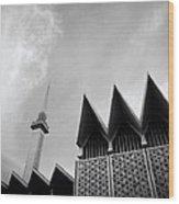 Modern Islam Wood Print