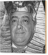 Mohamed Al Fayed Wood Print