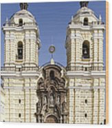 Monastery Of San Francisco - Lima Peru Wood Print