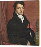 Monsieur De Norvins Wood Print