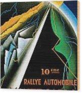 Monte Carlo Rallye Automobile Wood Print