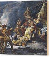Montgomerys Death, 1775 Wood Print