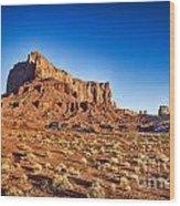 Monument Valley -utah V5 Wood Print