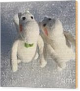 Moomins Wood Print