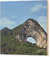 Moon Hill, Yangshuo, China Wood Print